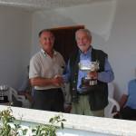 Danilo Rebaschio vincitore Trofeo Trivellato con Trento bracco italiano