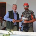 Paolo Festa vincitore Trofeo Trivellato con Atena epagneul breton