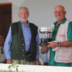 Sergio Valentic vincitore Trofeo Trivellato con il pointer Oste
